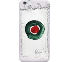 Christmas card- Red and Green 2014 iPhone Case/Skin