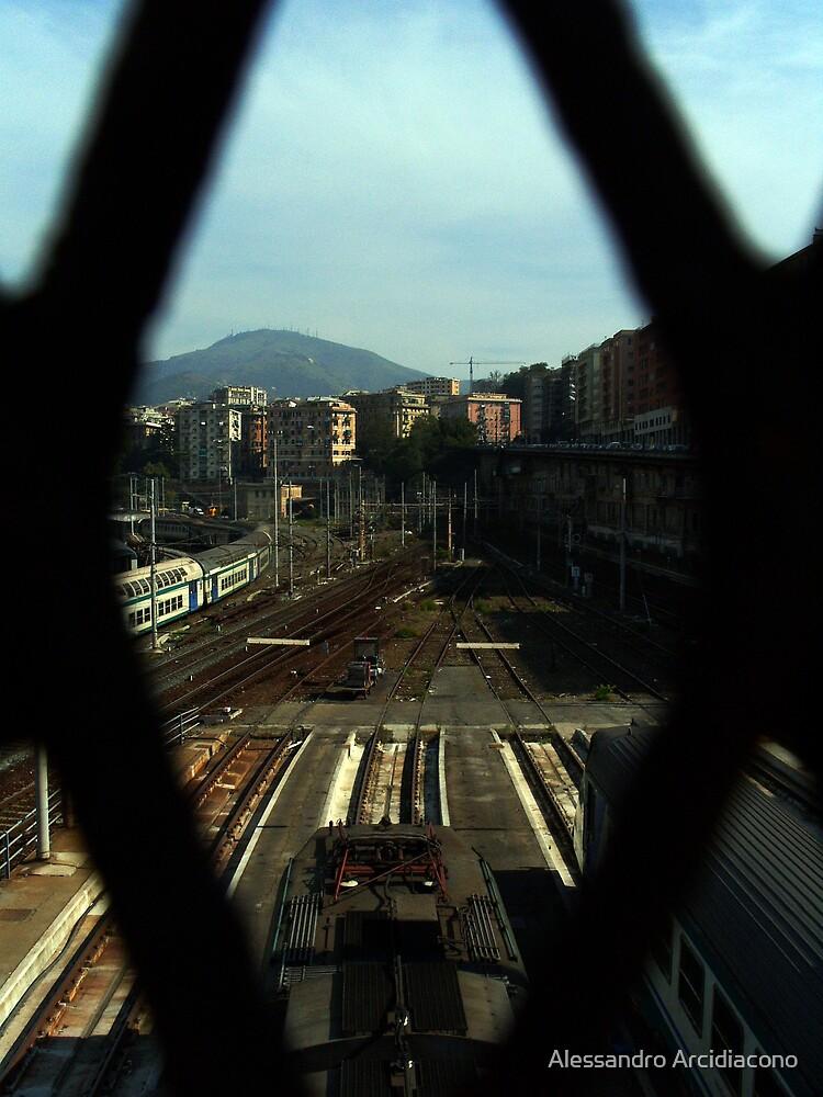 Sleeping train 2 by Alessandro Arcidiacono