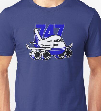 BOEING / JUMBO 747 MASCOT Unisex T-Shirt