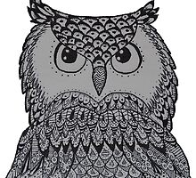 OWL 01 BLACK & WHITE by MUYOU
