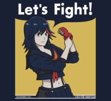 Ryuko the Fighter by pigboom