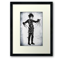 Edward Scissorhands Framed Print