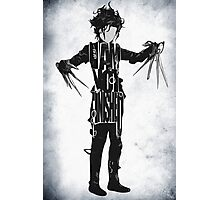 Edward Scissorhands Photographic Print