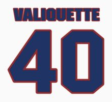 National Hockey player Steve Valiquette jersey 40 by imsport