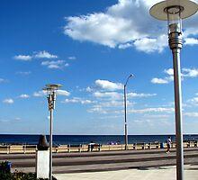 "Asbury Park, NJ - The Boardwalk - ""Tillie"" by AnneRN"