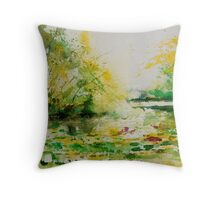 watercolor 060607 Throw Pillow