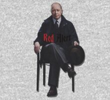 Raymond 'Red' Reddington - Red Alert Print by riotshieldtom