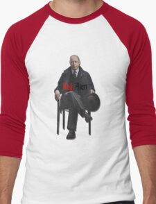Raymond 'Red' Reddington - Red Alert Print Men's Baseball ¾ T-Shirt