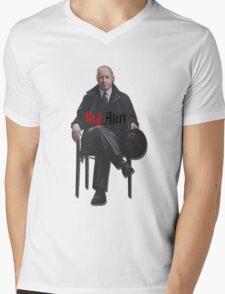 Raymond 'Red' Reddington - Red Alert Print Mens V-Neck T-Shirt
