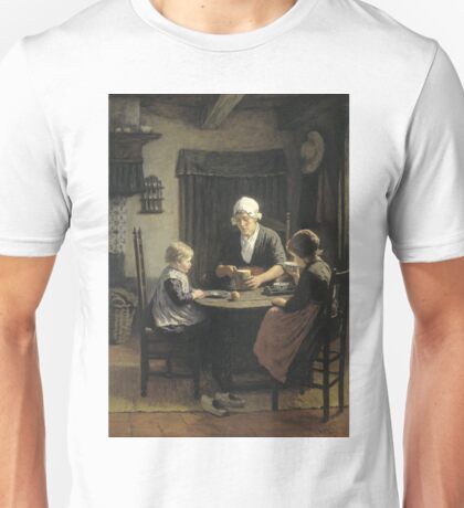 David Adolph Constant Artz - At Grandmothers, 1883 Unisex T-Shirt