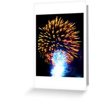 When I Think Of You III Greeting Card