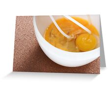 Eggs Bowl & Whisk Greeting Card
