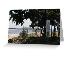A surfing location.  Midge and Nat liked it there.  Greeting Card