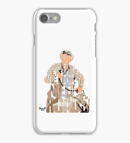 Emmett Brown iPhone Case/Skin