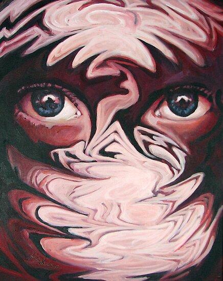 Drowning in eyes by Samuel Durkin