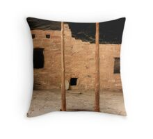 Once a Home Throw Pillow