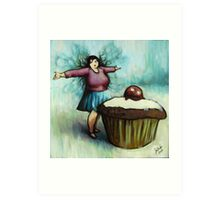 The Fairy of Cakes Art Print