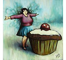 The Fairy of Cakes Photographic Print
