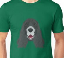 Black Cocker Spaniel Unisex T-Shirt
