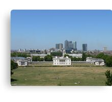 Across Greenwich Park ..... Canvas Print