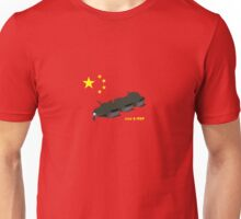 Tank Man (Unknown Rebel) - China, Tiananmen Square protest  Unisex T-Shirt