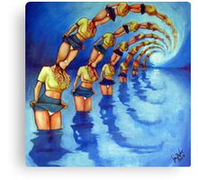 Bathers Singularity Canvas Print