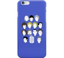 13 Doctors iPhone Case/Skin