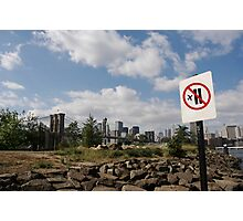 9/11 Not allowed Photographic Print