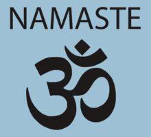 Namaste- meta misha shirt by van-helsa124
