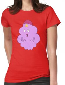 Lumpy Space Meg Womens Fitted T-Shirt