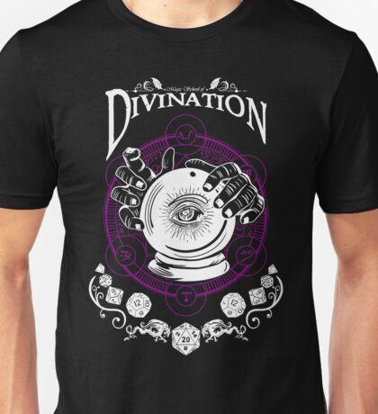 Divination - D&D Magic School Series : White Unisex T-Shirt