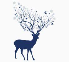 Blue deer Kids Clothes