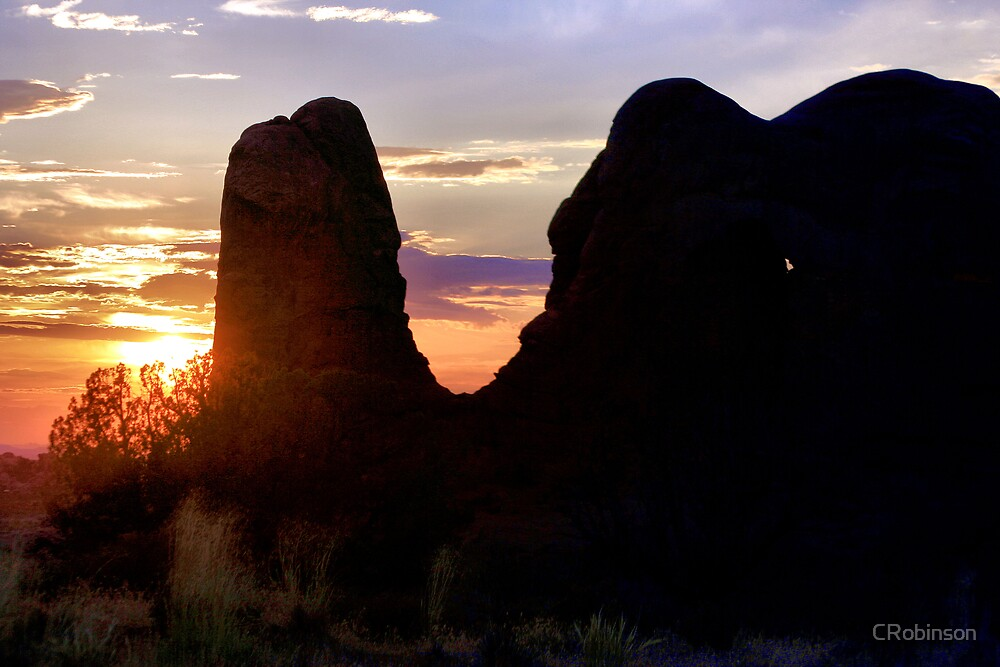 Sunset on the Arches by CRobinson