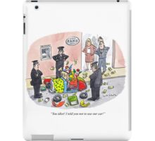 Bank job iPad Case/Skin
