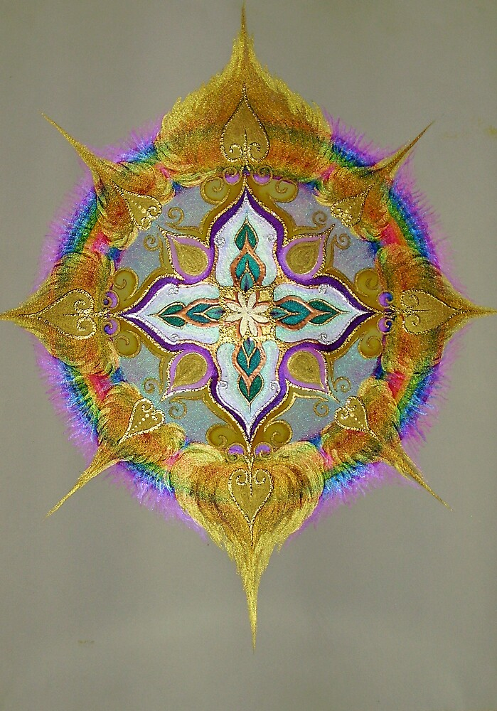 Mandala  - Essence of Soul by Helen Grant-Johnston