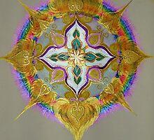Mandala  - Essence of Soul by Helen Grant-Johnston