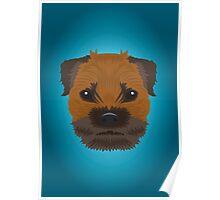 Border Terrier  Poster