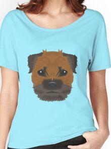 Border Terrier  Women's Relaxed Fit T-Shirt