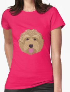 Golden Labradoodle  Womens Fitted T-Shirt