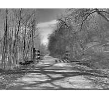 Trail of Shadows Photographic Print
