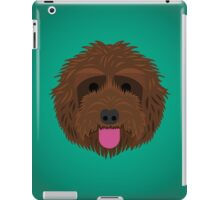 Brown Labradoodle iPad Case/Skin
