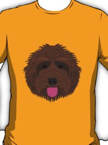Brown Labradoodle T-Shirt