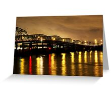 Steel Bridge Greeting Card