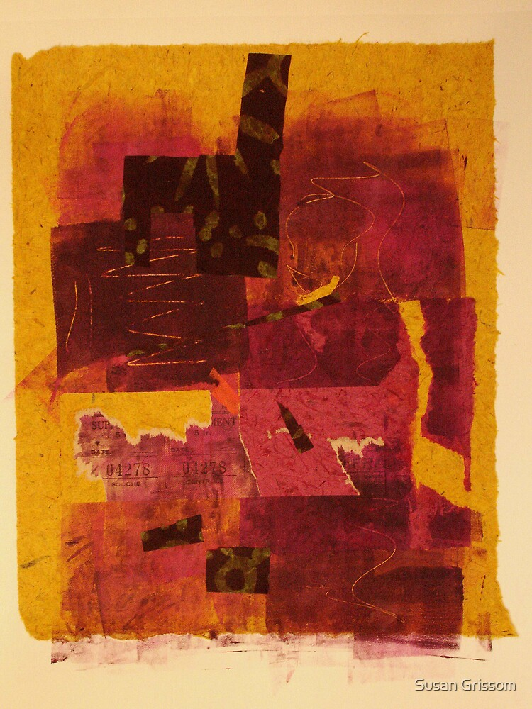 Yellow Chine Colle No. 2 by Susan Grissom