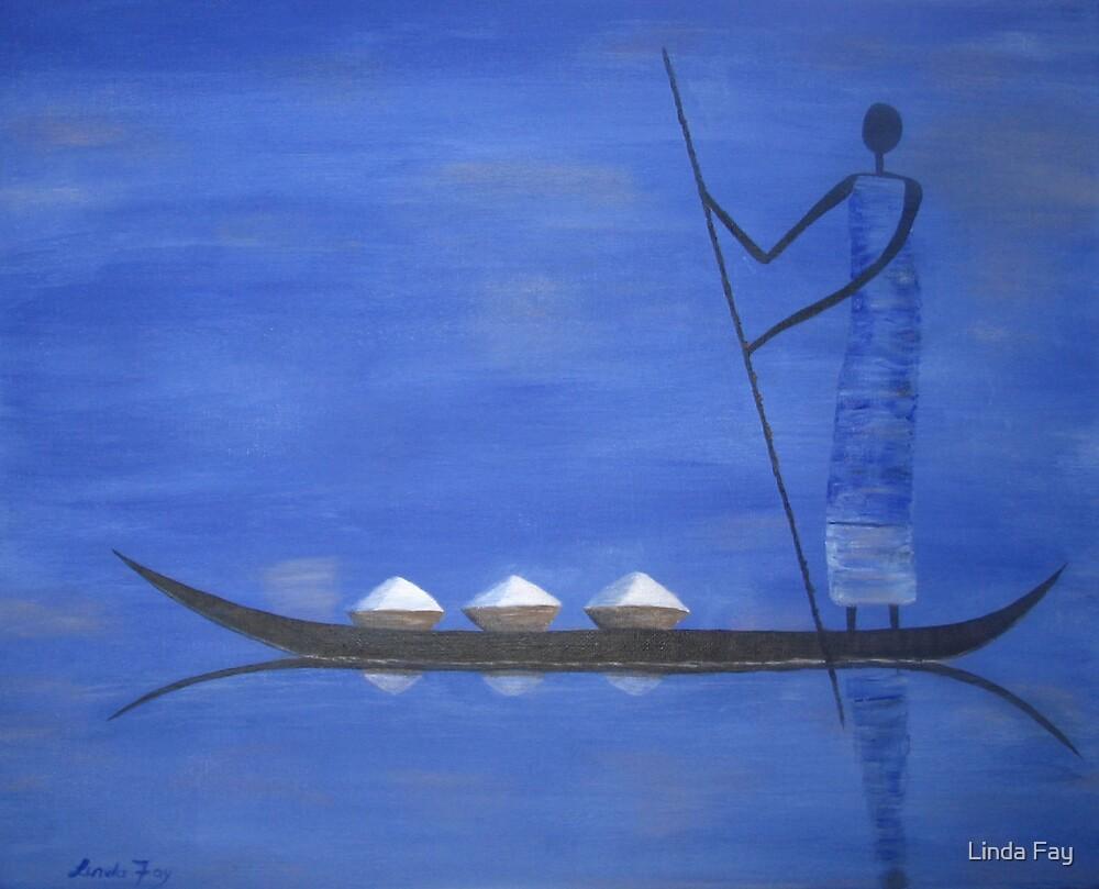 Rice Boat by Linda Fay