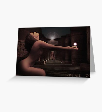 The Ressurection of Cleopatra Greeting Card