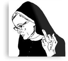 Sister Jude Middle Finger Metal Print