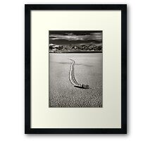 Off to the Races Framed Print