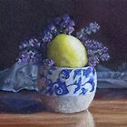 Pot with lavender and lemon by Belinda Lindhardt