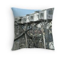 Upcoming collapse? Throw Pillow
